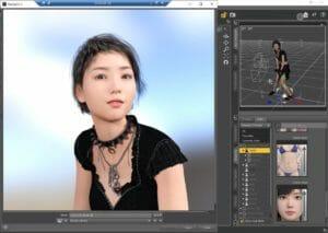 DAZ Studio CHIHIRO