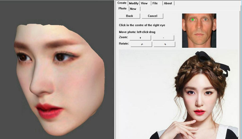 FaceGen Artist DEMO DAZ Studio 3DCG Chrome 3D