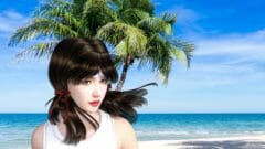 FaceGen DAZ Studio 3DCG 顔写真 Chrome 3D