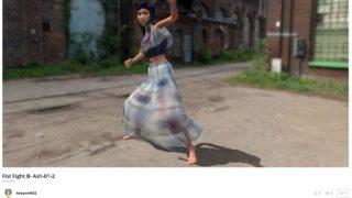 VR 3Dモデル FaceGen DAZ Studio Blender Mixamo Sketchfab